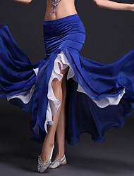 cheap -Belly Dance Skirt Ruffles Women's Performance Natural Milk Fiber Polyester