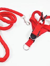 Недорогие -Собака Ремни Безопасность Однотонный Джинса Красный Зеленый