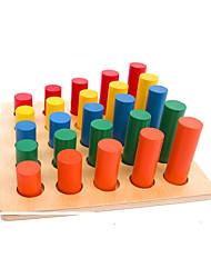 Недорогие -Обучающие игрушки Монтессори Игрушки для обучения математике Обучающая игрушка Экологичные Образование Дерево Детские Игрушки Подарок