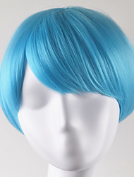 cheap -europe and united states fashion xie liu party ballbobo light blue lorshort hair high temperature wire wigs