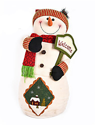 cheap -Snowman Christmas Decorations Lovely / Furnishing Articles Cartoon / High Quality / Fashion Textile Boys' / Girls' Gift