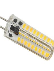 cheap -3 W LED Bi-pin Lights 320-350 lm GY6.35 T 72 LED Beads SMD 2835 Dimmable Warm White 12 V