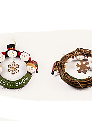 cheap -Santa Suits Elk Snowman Christmas Decorations Lovely Cartoon High Quality Fashion Textile Boys' Girls' Toy Gift