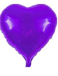 Недорогие -Воздушные шары Игрушки В форме сердца Сердце Оригинальные Надувной Для вечеринок Алюминий Мальчики Девочки Куски