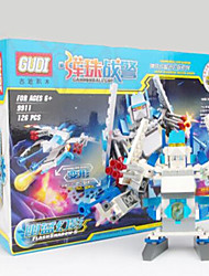 cheap -GUDI Action Figure Building Blocks Construction Set Toys Warrior Robot compatible Legoing Boys' Girls' Toy Gift / Educational Toy