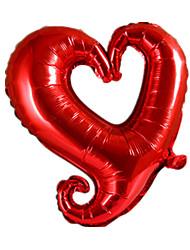 Недорогие -Мячи / Воздушные шары Сердце Творчество / Для вечеринок / Надувной Алюминий Мальчики / Девочки Подарок 1 pcs