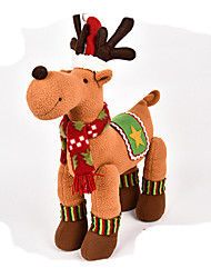 cheap -Elk Christmas Decorations Lovely Cartoon High Quality Fashion Plush Boys' Girls' Toy Gift