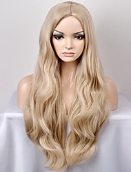 cheap -europe and the united states women s fashionable new year in the sub shallow golden wave high temperature wire wig