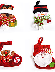 cheap -Santa Suits Elk Snowman Christmas Gift Lovely Cartoon High Quality Fashion Textile Boys' Girls' Toy Gift
