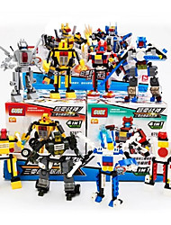 cheap -GUDI GUDI8707 Action Figure Building Blocks Military Blocks Tank Warship Warrior compatible Legoing Cool Chic & Modern Boys' Girls' Toy Gift / Educational Toy