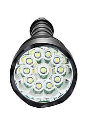 Недорогие -Светодиодные фонари Водонепроницаемый 3800 lm Светодиодная лампа LED 3 излучатели 5 Режим освещения Водонепроницаемый Диммируемая Очень легкие Высокомощный / Алюминиевый сплав