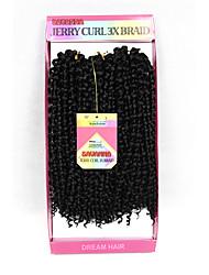 cheap -Brazilian Hair Curly Weave Human Hair 300 g Ombre Hair Weaves / Hair Bulk Human Hair Weaves Human Hair Extensions