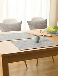 cheap -Rectangular Solid Table Runner , Linen Material Hotel Dining Table Table Decoration