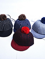 cheap -Hat Thermal / Warm Comfortable for Baseball Stripes / Kid's