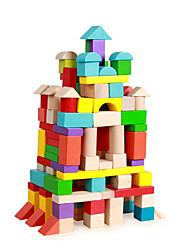 cheap -Building Blocks For Gift  Building Blocks Wood Rainbow Toys
