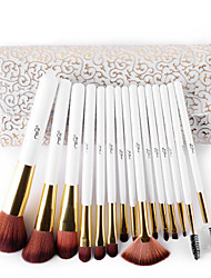 cheap -Professional Makeup Brushes Makeup Brush Set 15pcs Professional Synthetic Hypoallergenic Limits Bacteria Bristle / Synthetic Hair / Artificial Fibre Brush Makeup Brushes for Makeup Brush Set