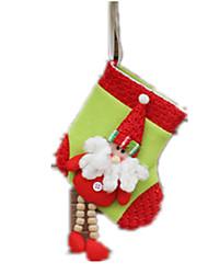 cheap -Gift Bag Santa Suits Elk Snowman Textile Cloth Boys' Toy Gift 1 pcs