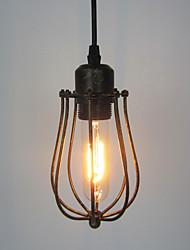 cheap -1-Light 11cm(4.3 inch) Mini Style Pendant Light Metal Painted Finishes Rustic / Lodge / Vintage / Retro 110-120V / 220-240V
