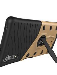Недорогие -Кейс для Назначение Sony Sony Xperia E5 / Sony со стендом / Ультратонкий Кейс на заднюю панель броня Твердый ПК