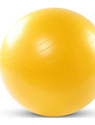 Недорогие -75 см. Мяч для упражнений / мяч для йоги Для профессионалов, Взрывозащищенный пластик Поддержка 500 kg С Физиотерапия, Обучение балансу, Устойчивость Для