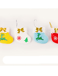 cheap -Christmas Decorations Cartoon Fashion High Quality Lovely Textile Girls' Boys' Gift