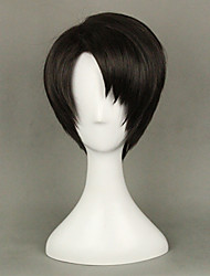 cheap -Synthetic Wig Cosplay Wig Straight Straight Wig Short Brown Synthetic Hair Women's Brown hairjoy