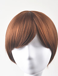 cheap -Synthetic Wig Straight Straight Bob Wig Short Brown Synthetic Hair Women's Brown