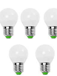 cheap -EXUP® 5pcs 5 W LED Globe Bulbs 450 lm E14 E26 / E27 G45 12 LED Beads SMD 2835 Decorative Warm White Cold White 220-240 V 110-130 V / 5 pcs / RoHS / CCC / ERP / LVD