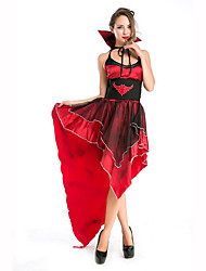 cheap -Vampire Women's Christmas Halloween Carnival Festival / Holiday Polyester Women's Carnival Costumes Solid Colored / Headwear