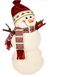 cheap -Christmas Decorations Snowman Lovely Textile Imaginative Play, Stocking, Great Birthday Gifts Party Favor Supplies Boys' Girls' Adults'