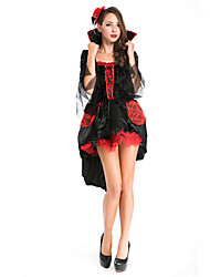 cheap -Witch Women's Christmas Halloween Carnival Festival / Holiday Polyester Women's Carnival Costumes Solid Colored / Headwear