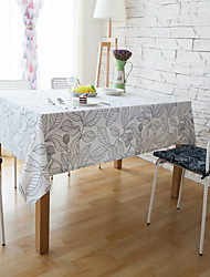 cheap -Rectangular Striped Patterned Table Cloth Material Hotel Dining Table Table Decoration 1