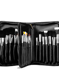 cheap -Professional Makeup Brushes Makeup Brush Set 29 pcs Professional Full Coverage Mink Hair / Goat Hair / Pony Wood Makeup Brushes for Makeup Brush Set / Synthetic Hair / Horse / Goat Hair Brush