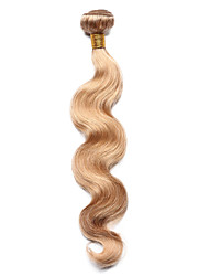 cheap -1pc tres jolie body wave human hair 10 18inch strawberry blonde color 27 human hair weaves