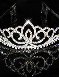 cheap -Women's Rhinestone Crystal Headpiece-Wedding Special Occasion Tiaras