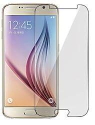 Недорогие -Защитная плёнка для экрана для Samsung Galaxy S7 / S6 / S5 Закаленное стекло Защитная пленка для экрана Против отпечатков пальцев