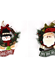 cheap -Santa Suits Snowman Christmas Decorations Lovely Cartoon High Quality Fashion Textile Boys' Girls' Toy Gift