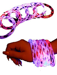 cheap -Glitter Flash Bangles LED Colorful Bracelets LED Crystal Bracelets Bar Concert Supplies