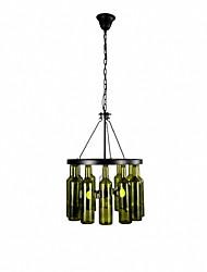 abordables -QINGMING® 4 lumières Lustre Lumière d'ambiance Finitions Peintes Métal Style mini 110-120V / 220-240V Ampoule non incluse / E26 / E27
