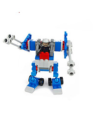 cheap -GUDI GUDI8206A Action Figure Building Blocks Military Blocks Balls Educational Toy Construction Set Toys Warrior Robot Soldier compatible ABS Legoing Cool Chic & Modern Cartoon Boys' Girls' Toy Gift