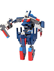 cheap -GUDI Action Figure Building Blocks Military Blocks Warrior Fighter Aircraft Robot compatible Legoing Boys' Girls' Toy Gift / Educational Toy