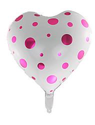 Недорогие -Воздушные шары Сердце Творчество Оригинальные Алюминий Мальчики Девочки Игрушки Подарок 1 pcs
