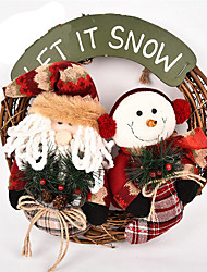 cheap -Santa Suits Snowman Lovely Textile Imaginative Play, Stocking, Great Birthday Gifts Party Favor Supplies Boys' Girls' Adults'