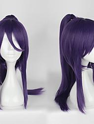 cheap -Cosplay Wigs Women's 22 inch Heat Resistant Fiber Purple Anime / Classic Lolita Dress