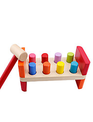 cheap -Hammering / Pounding Toy Building Blocks Baby & Toddler Toy Educational Toy 8 pcs Novelty Cartoon Boys' Girls' Toy Gift / Wood