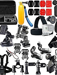 cheap -Accessory Kit For Gopro Floating Hand Grip Waterproof Adjustable Anti-Shock 44 pcs For Action Camera Gopro 2 Gopro 3+ Diving Surfing Ski / Snowboard EVA ABS