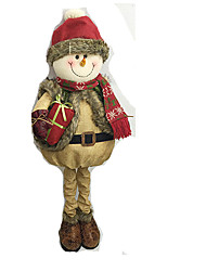 cheap -Santa Suits Elk Snowman Christmas Decorations Cartoon Fashion High Quality Lovely Textile Girls' Boys' Gift