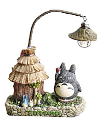 cheap -LED Lighting Action Figure Cat House ABS Boys' Girls' Toy Gift