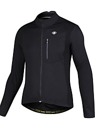cheap -SANTIC Men's Cycling Jacket Bike Jersey Breathable Sports Winter Mountain Bike MTB Road Bike Cycling Clothing Apparel Advanced Relaxed Fit Bike Wear / Stretchy