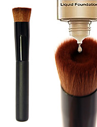 cheap -Concave Liquid Foundation Brush BB Cream Single Makeup Brushes Professional Beauty Tools Pincel